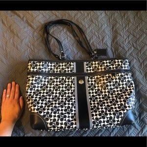 Large Coach Diaper Bag